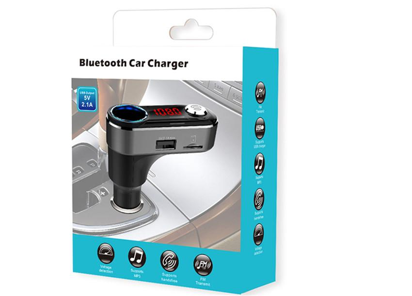 Bluetooth car charger  2.1 A