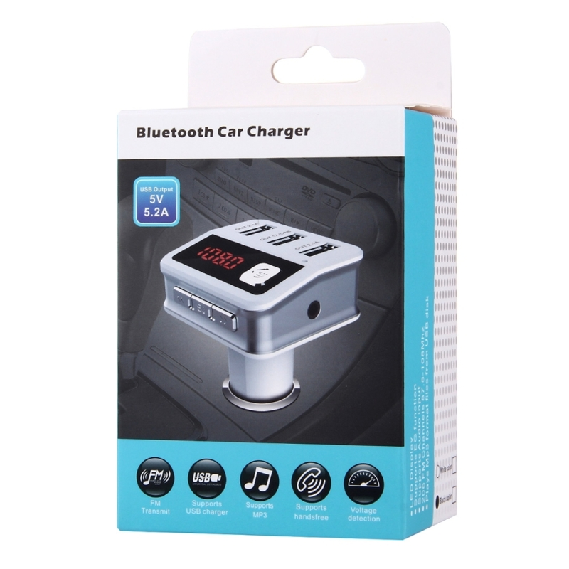 Bluetooth Car Charger 5V 5.2A