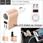 hoco-z10-car-charger-3in1-usb-2-port-5v21a-2-usb